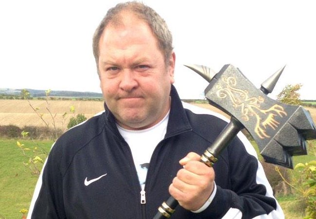 Mark Addy as seen in January 2015