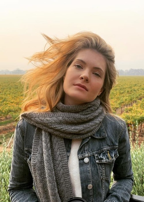 Meghann Fahy as seen in Enchanted Hills, California in November 2018