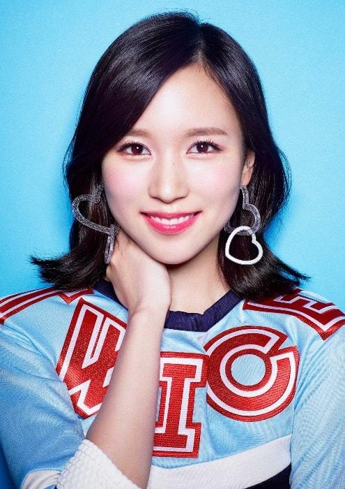 Myoui Mina as seen while smiling