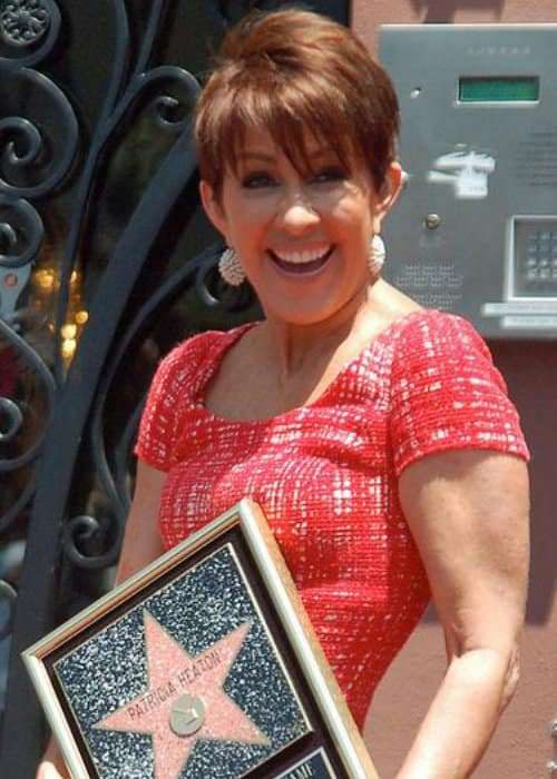 Patricia Heaton at a ceremony to receive a star on the Hollywood Walk of Fame in May 2012