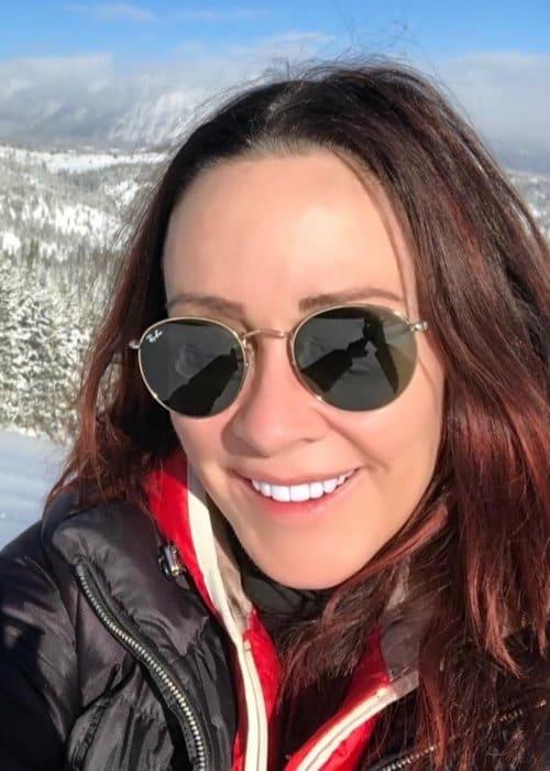 Patricia Heaton in an Instagram selfie as seen in January 2019