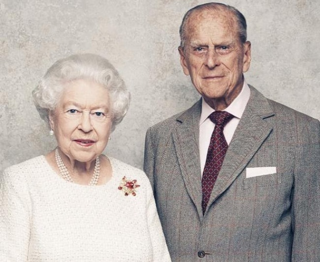 Queen Elizabeth II with Prince Philip, Duke of Edinburgh