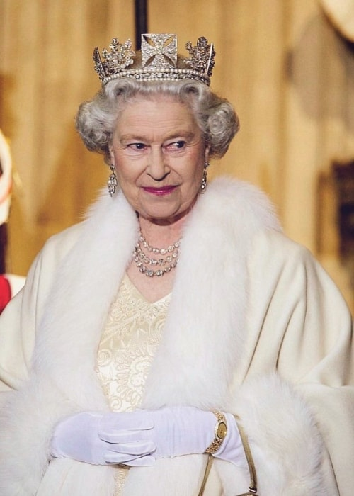 Queen Elizabeth II with all her poise
