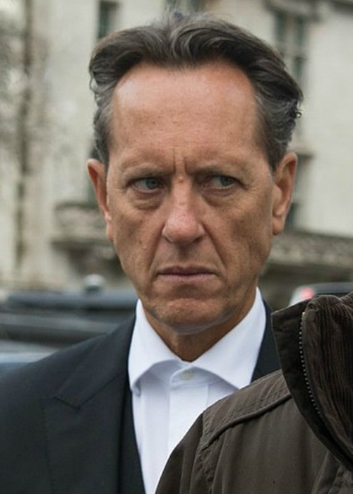 Richard E. Grant at Westminster Abbey memorial in March 2014
