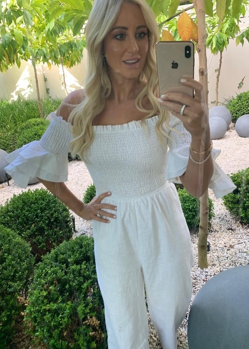 Roxy Jacenko in a mirror selfie in November 2018