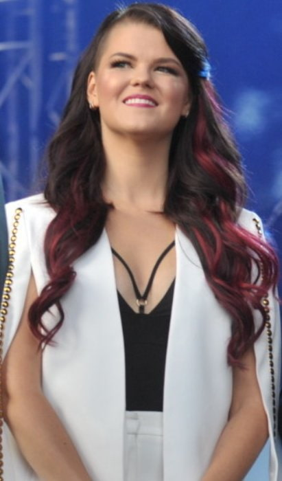 Saara Aalto as seen in June 2017