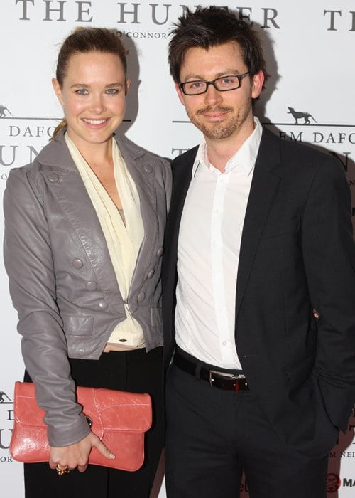 Saskia Burmeister and Jamie Croft as seen in September 2011