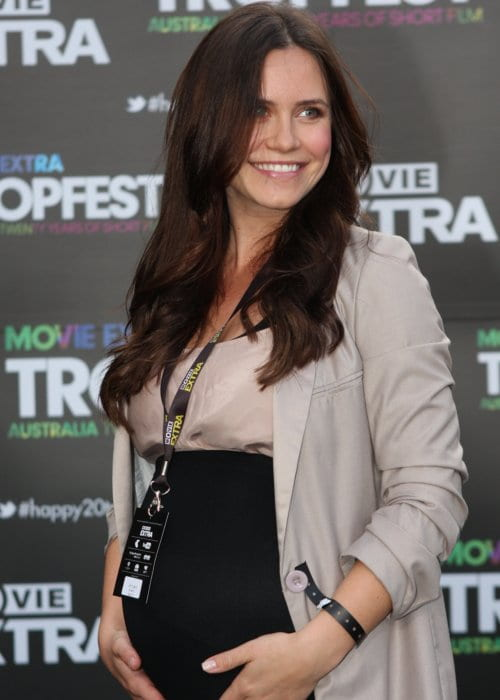 Saskia Burmeister at Tropfest 2012 in Sydney
