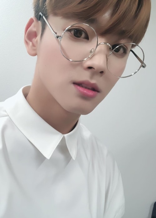 Seyong in a selfie in August 2018