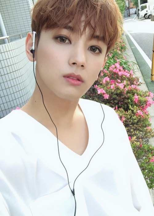 Seyong in a selfie in May 2018