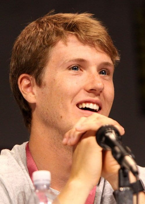 Spencer Treat Clark speaking at the 2013 WonderCon at the Anaheim Convention Center
