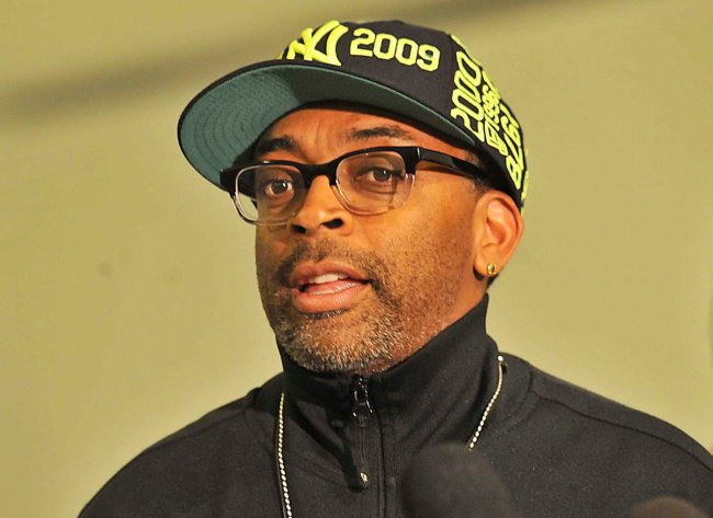 Spike Lee during an event in April 2012