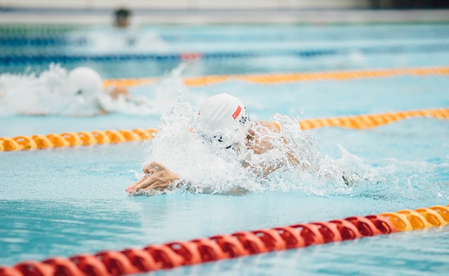 Swimming Interval Training
