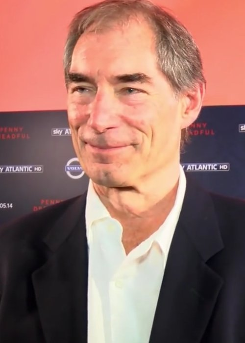 Timothy Dalton at the premiere of Penny Dreadful in 2014
