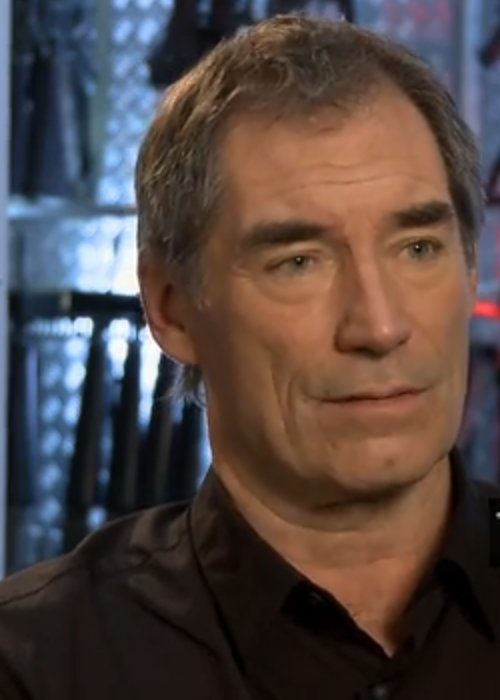 Timothy Dalton during an interview in June 2012
