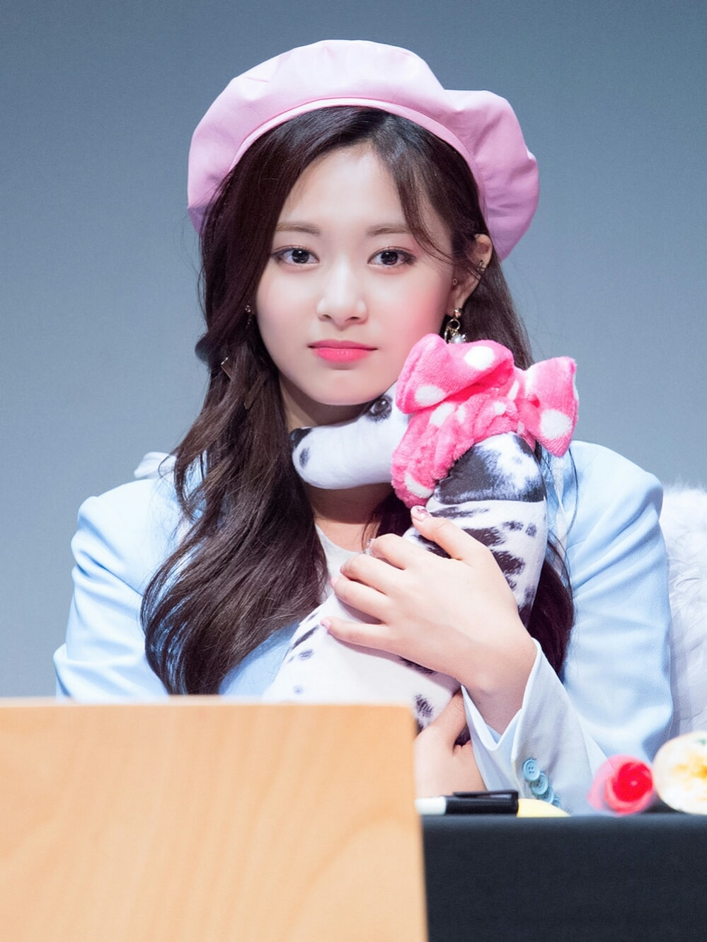 Tzuyu as seen in April 2018