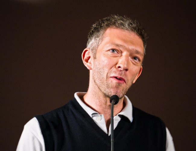 Vincent Cassel at Festival Paris Cinéma in July 2011