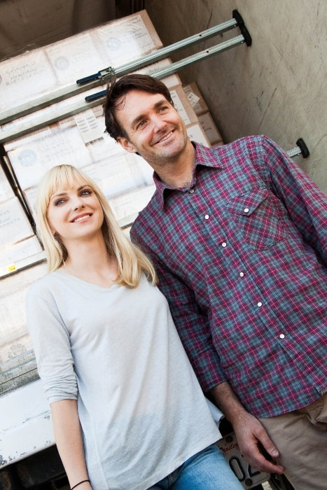Will Forte and Anna Faris in September 2013