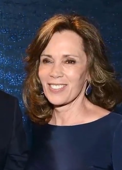 Actress Robin Dearden at the red carpet of an award function