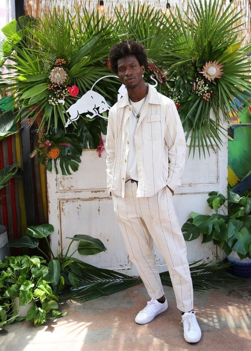 Adonis Bosso in Los Angeles, California in May 2018