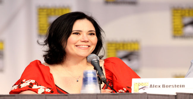 Alex Borstein on the Family Guy panel at the 2010 San Diego Comic-Con