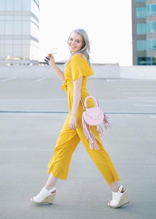 Amanda Lee as seen on her Instagram Profile in September 2018