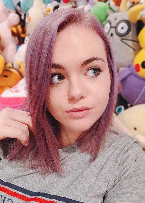Amanda Lee in an Instagram Selfie in February 2019
