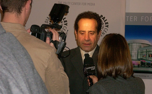 Another Still of Tony Shalhoub at Paley Center for Media in December 2008