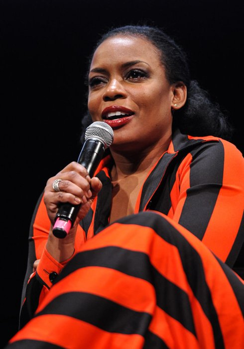Aunjanue Ellis during a conversation about The Book of Negroes in February 2015