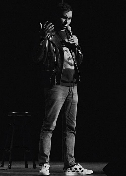 Aziz Ansari Performing as seen on his Instagram in November 2018