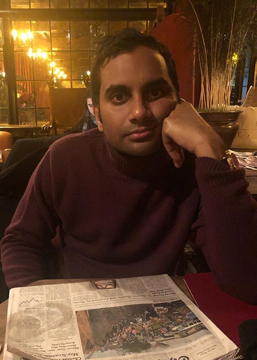 Aziz Ansari as seen on his Instagram Profile in November 2018