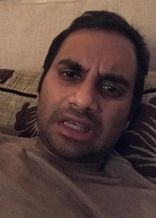 Aziz Ansari in an Instagram Selfie in February 2019