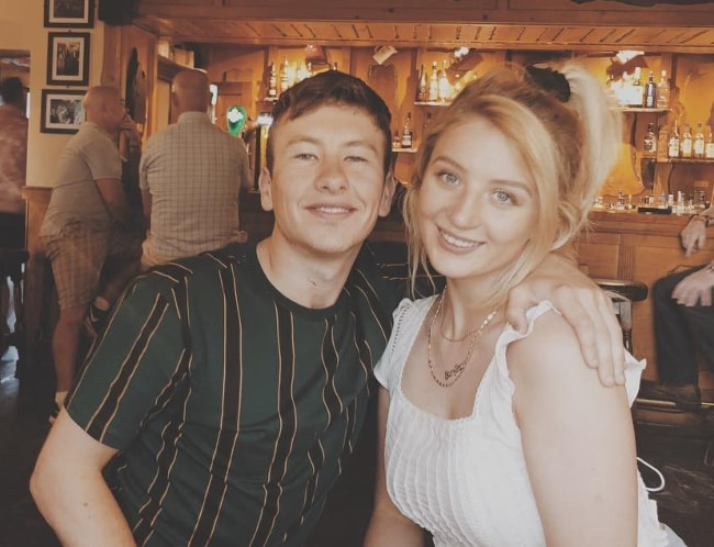 Barry Keoghan with Shona Guerin in July 2018