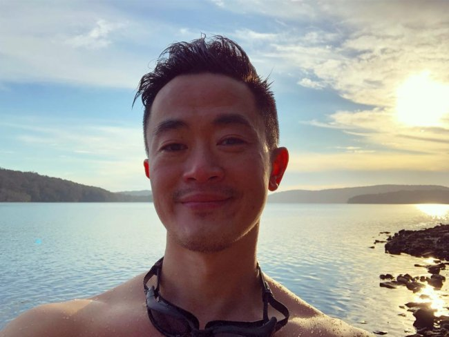 Benjamin Law in an Instagram selfie as seen in October 2018