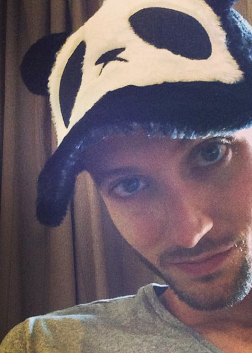 Brent Kutzle in an Instagram Selfie in Novemebrr 2013