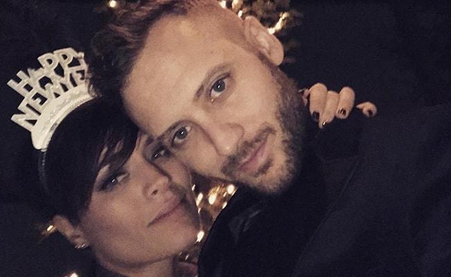 Brent Kutzle with his Girlfriend Jackie Leslie in an Instagram Selfie