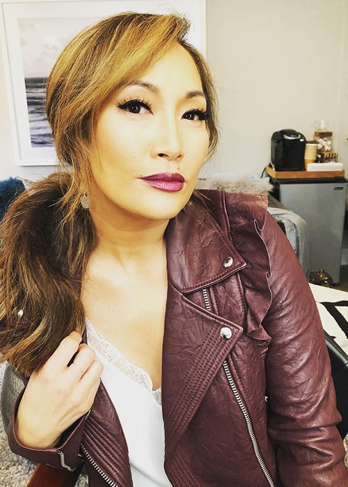Carrie Ann Inaba as seen in an Instagram Pic in January 2019