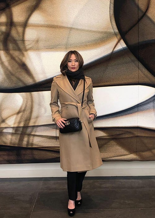 Carrie Ann Inaba as seen on her Instagram Profile in January 2019