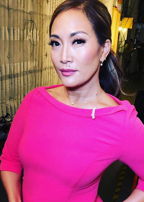 Carrie Ann Inaba as seen on her Instagram in January 2019