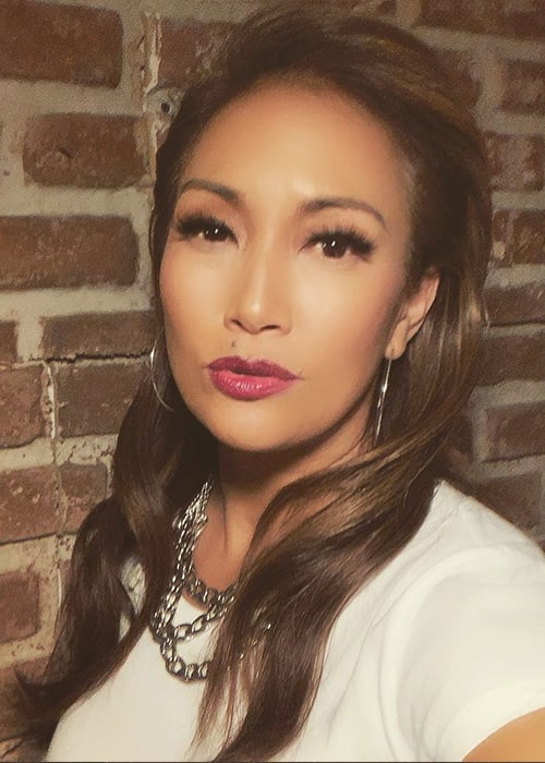 Carrie Ann Inaba in an Instagram Selfie in February 2019
