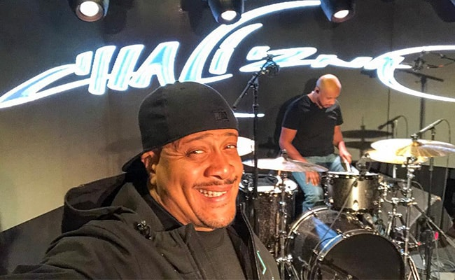Chali 2na in an Instagram Selfie During a Show in March 2018