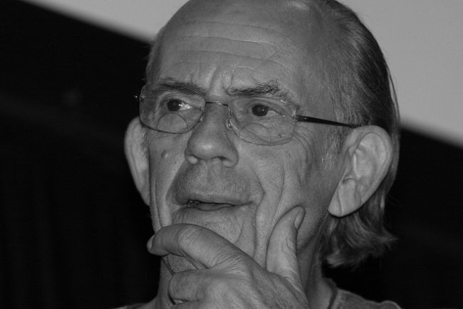 Christopher Lloyd at the Supernova Pop Culture Expo in June 2012