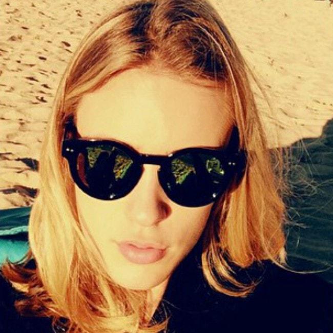 Colinne Michaelis in an Instagram selfie in October 2015