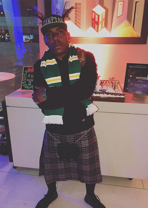 Coolio as seen on his Instagram profile in October 2017