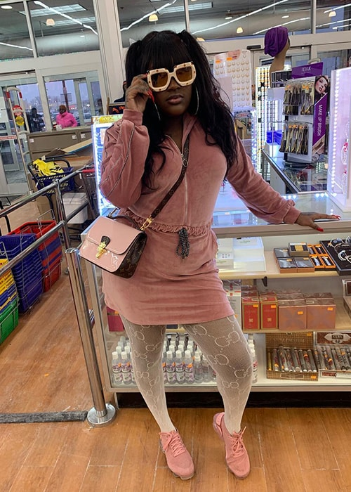 CupcakKe as seen on her Instagram Profile in February 2019