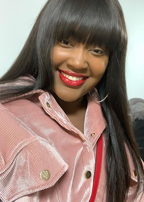 CupcakKe in an Instagram Selfie in November 2018