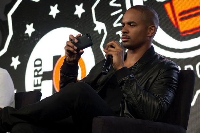 Damon Wayans Jr. during an event in July 2014