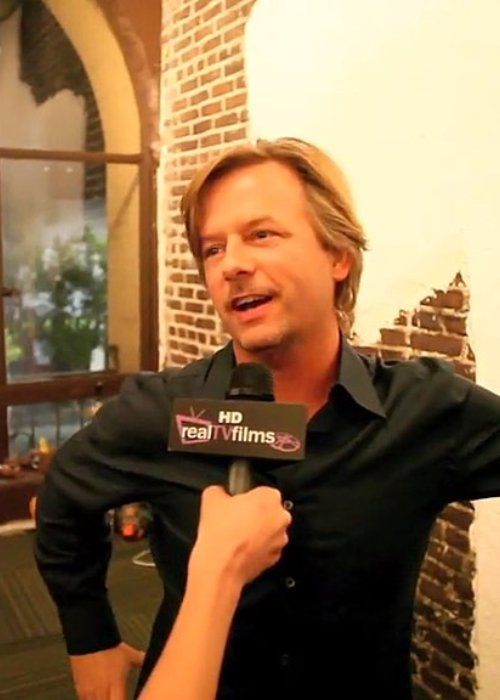 David Spade during an interview in October 2010