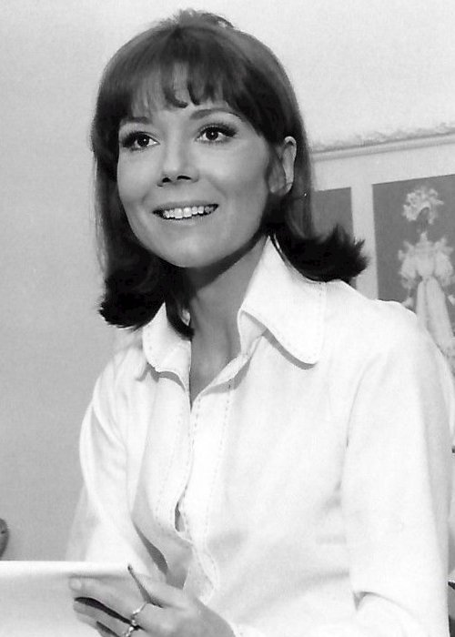Diana Rigg as seen in 1973
