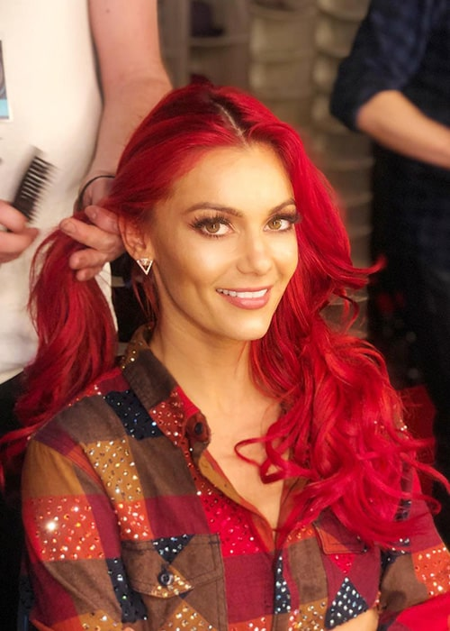 Dianne Buswell as seen on her Instagram Profile in January 2019